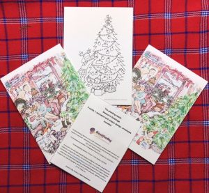 MH Christmas card